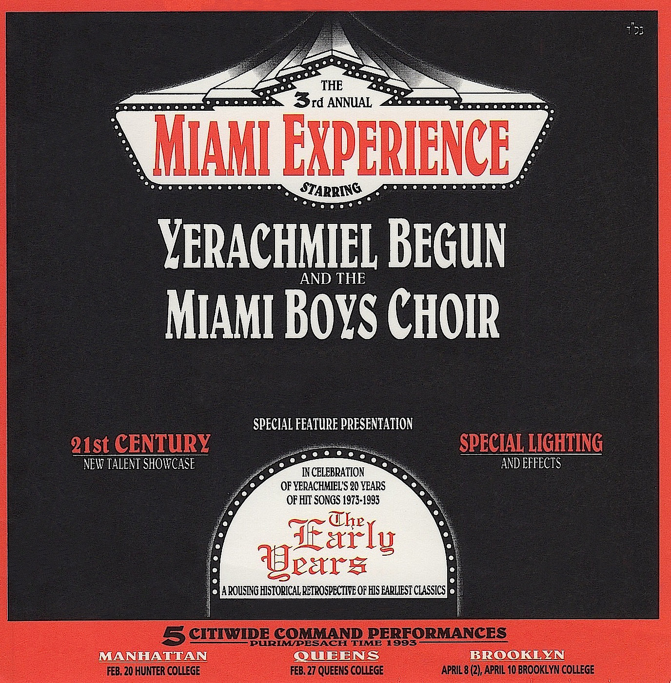 MIAMI EXPERIENCE 3 1993